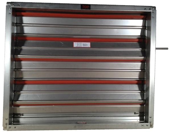 Volume Control Damper : Model air volume control damper stainless steel gal